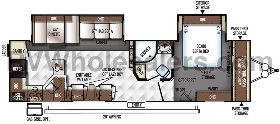 8310SS Floorplan
