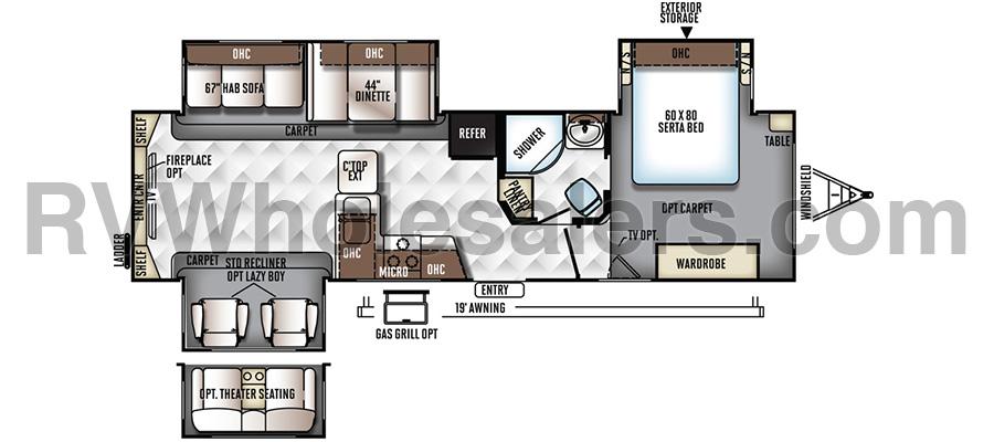 8325SS Floorplan