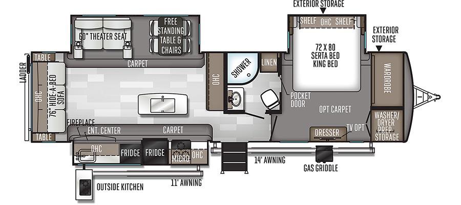 8328SB Floorplan