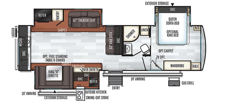 8332BS Floorplan