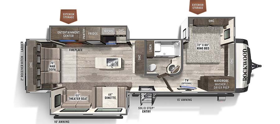 8337RL Floorplan