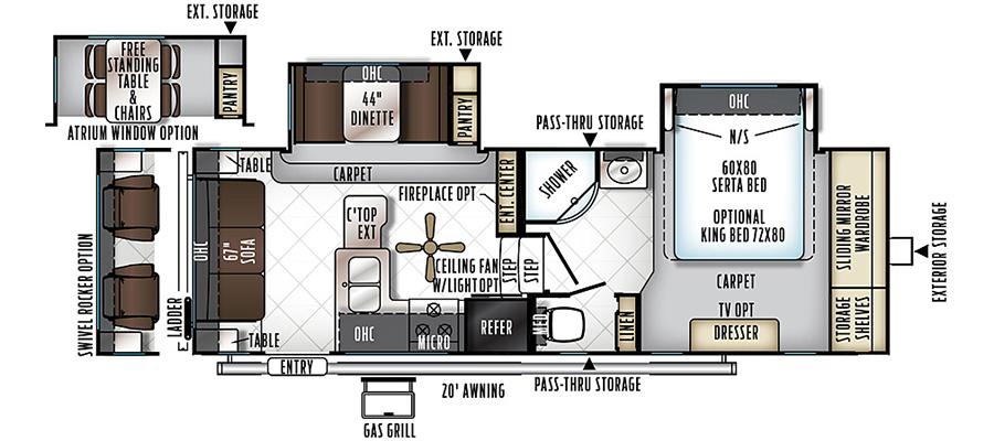2440BS Floorplan