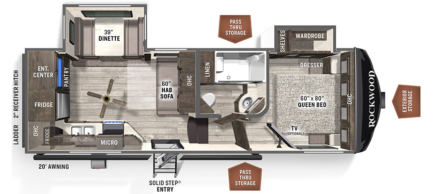 2445WS Floorplan