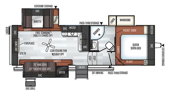2650WS Floorplan