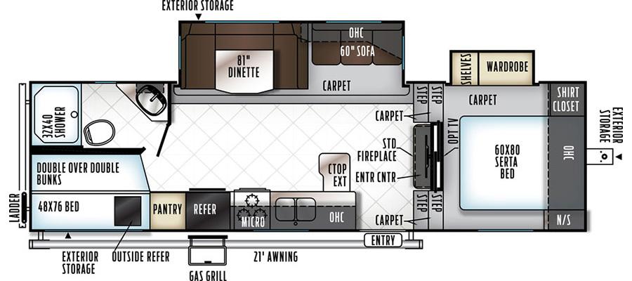 2780WS Floorplan