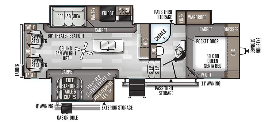 2889WS Floorplan