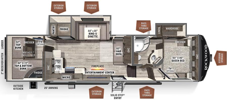 2891BH Floorplan