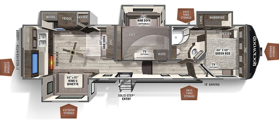 2896MB Floorplan