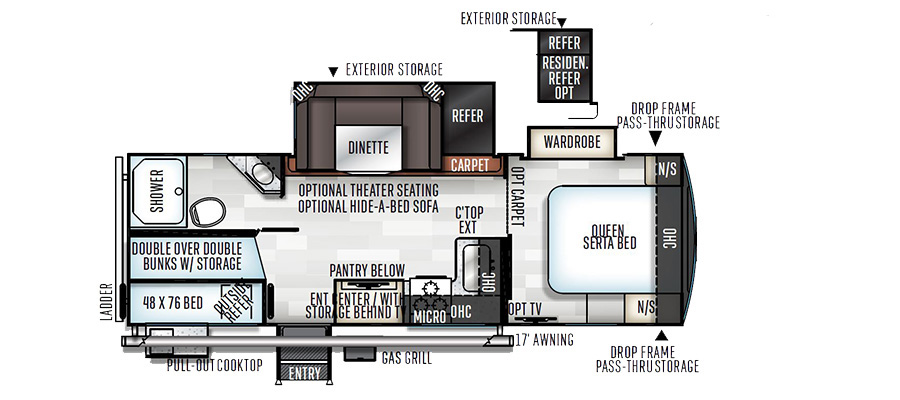 2609WS Floorplan