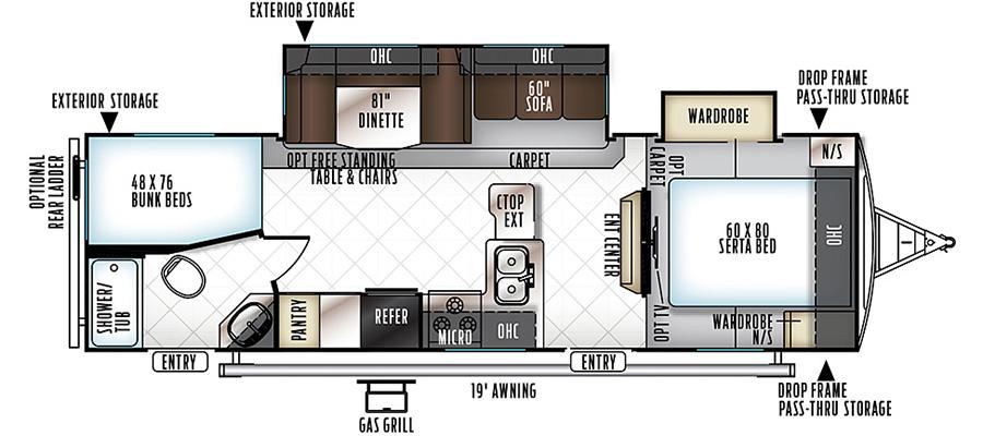 2702WS Floorplan