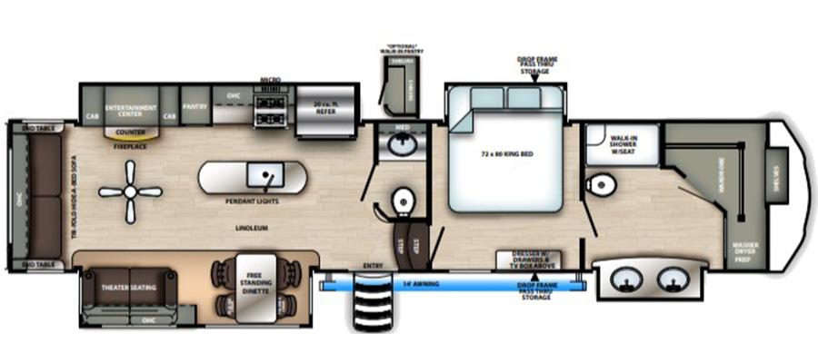 368FBDS Floorplan