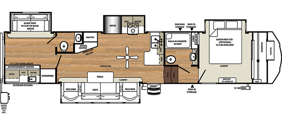 375BHOK Floorplan
