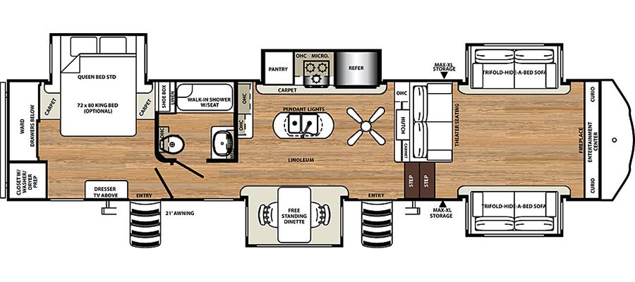 377FLIK Floorplan