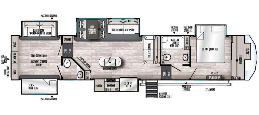 388BHRD Floorplan