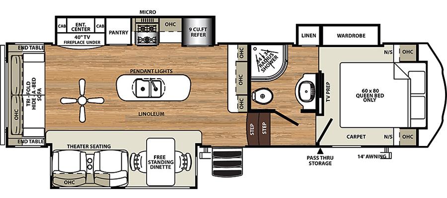 2950TRIK Floorplan