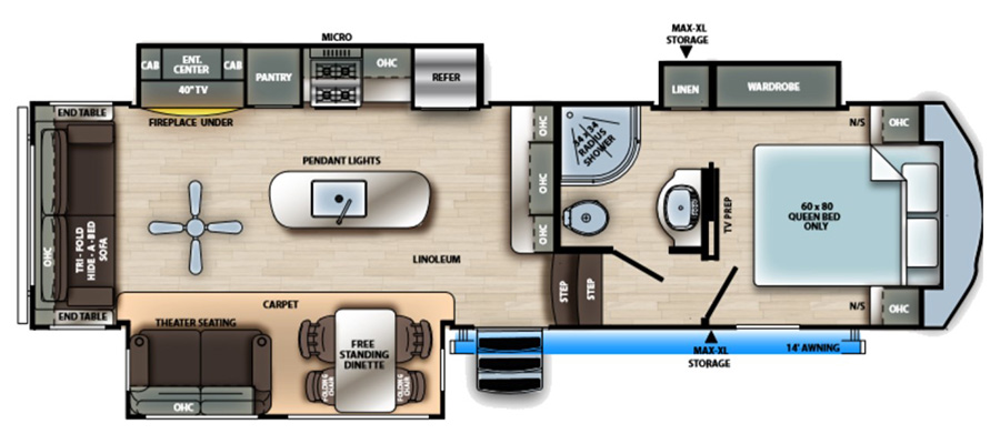 2990TRIK Floorplan