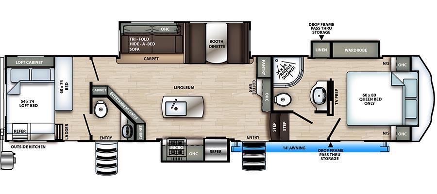 3340BH Floorplan
