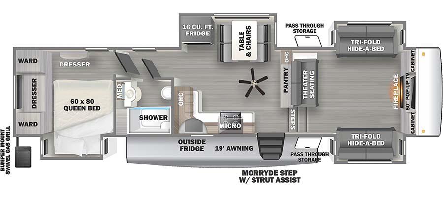 3770FL Floorplan
