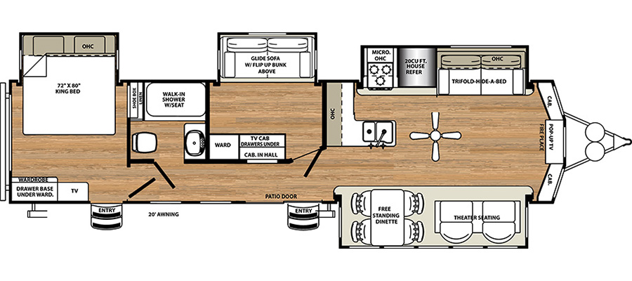 385FKBH Floorplan