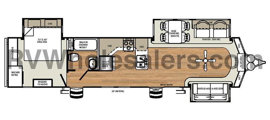 393CK Floorplan