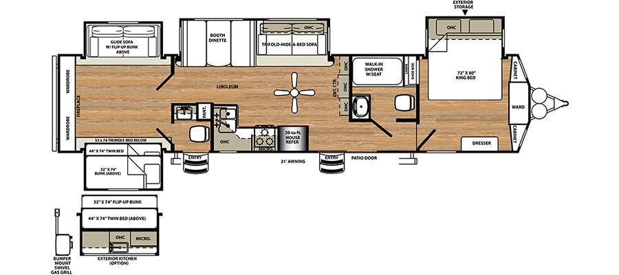 402QB Floorplan