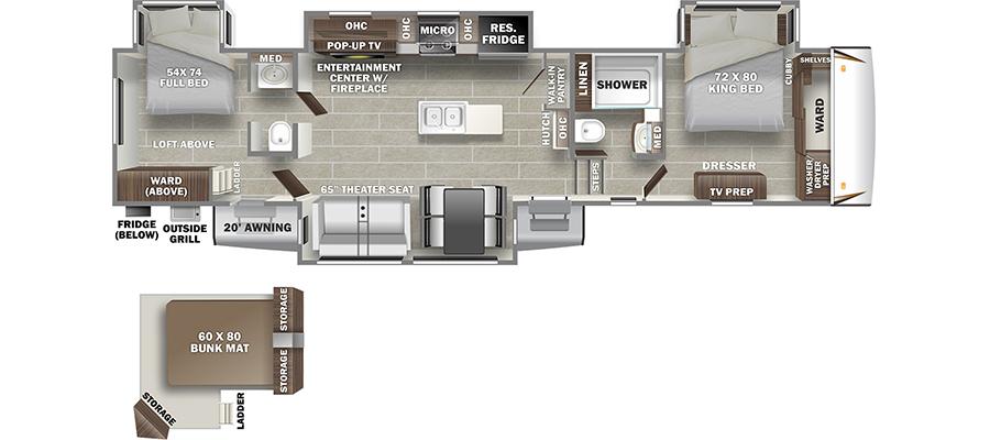3602WB Floorplan