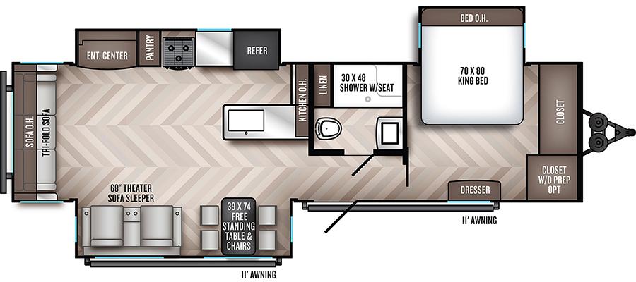 318RLTS Floorplan