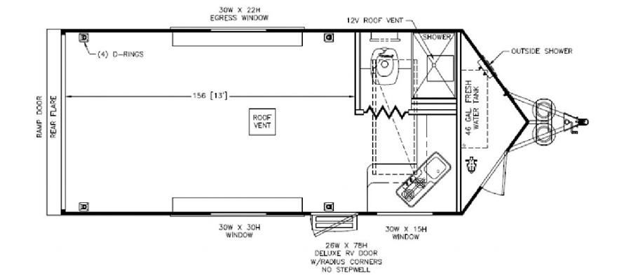 2020 Nomad 18AFK - stock no. X001245 - image  - thumbnail