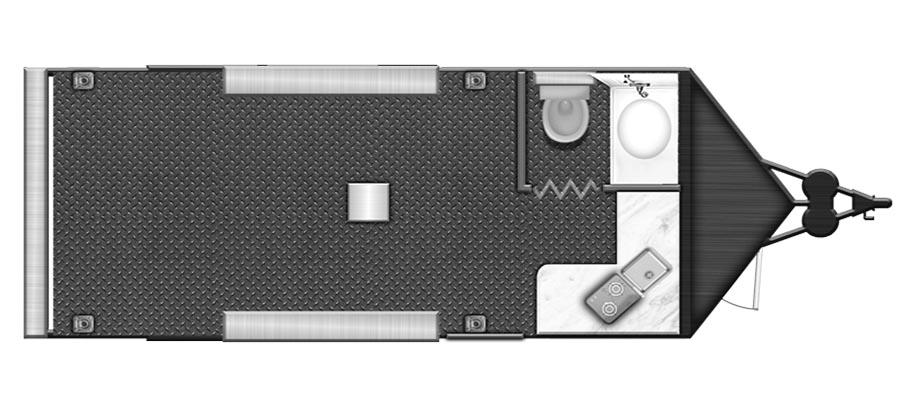 2022 Stealth Nomad 20ANFK Toy Hauler Travel Trailer: image 1