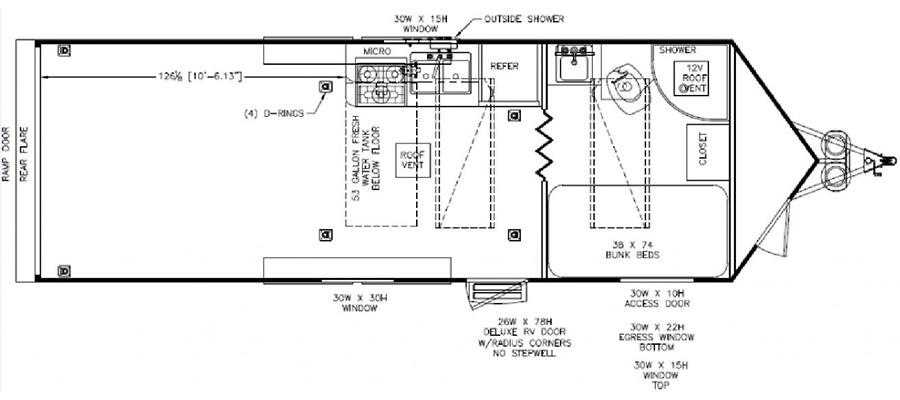 2020 Nomad 26DB - stock no. X001237 - image  - thumbnail