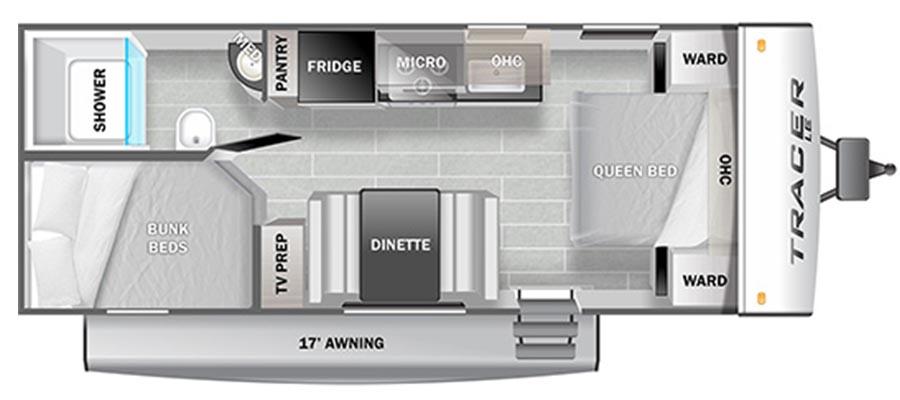 2021 Tracer LE 200BHSLE - stock no. X001698 - image  - thumbnail