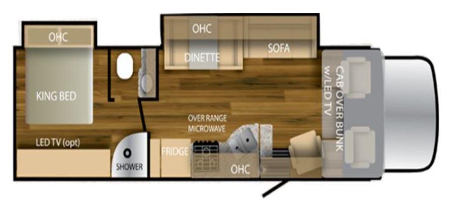32TSC Floorplan