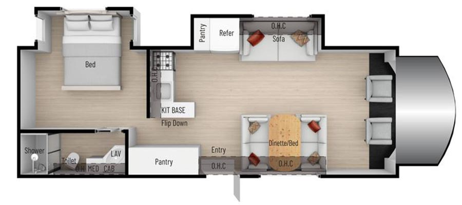 28T Floorplan