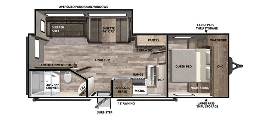 24X Floorplan