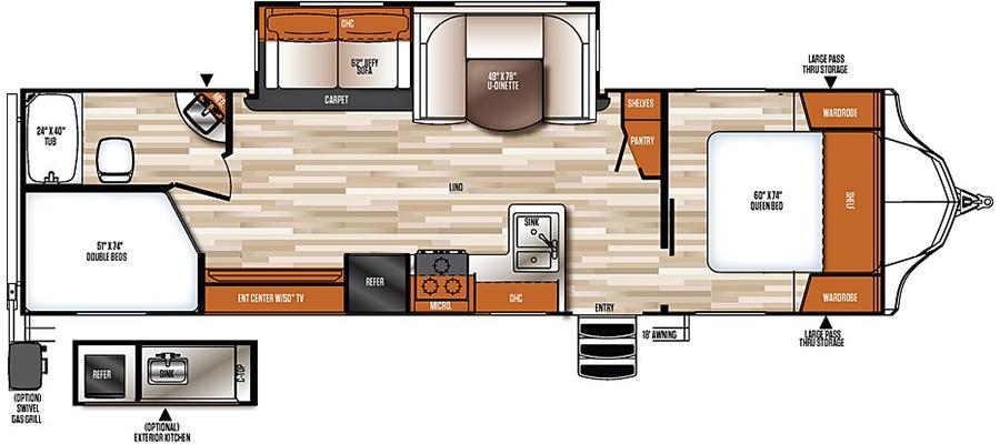284BHS Floorplan