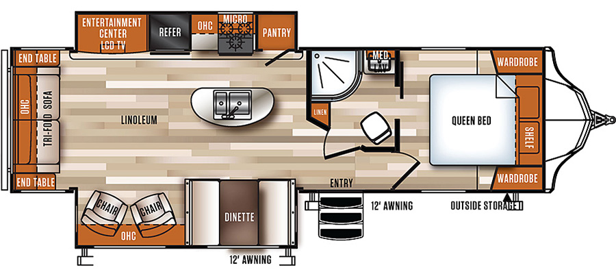 288RLS Floorplan