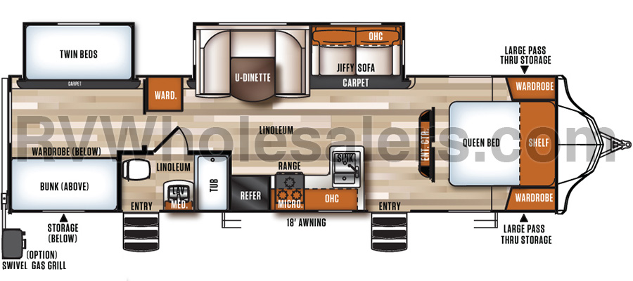 308BHS Floorplan