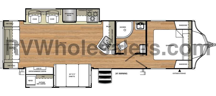 311RLS Floorplan