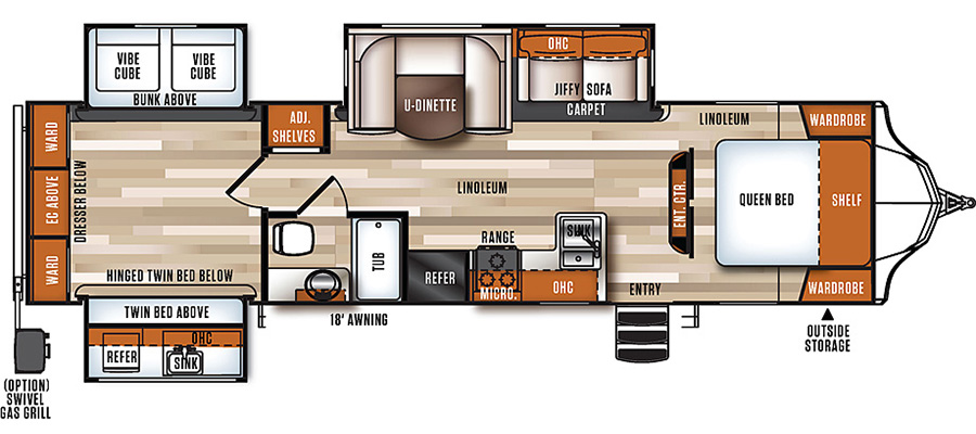 323QBS Floorplan