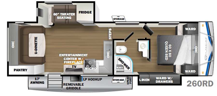 260RD Floorplan