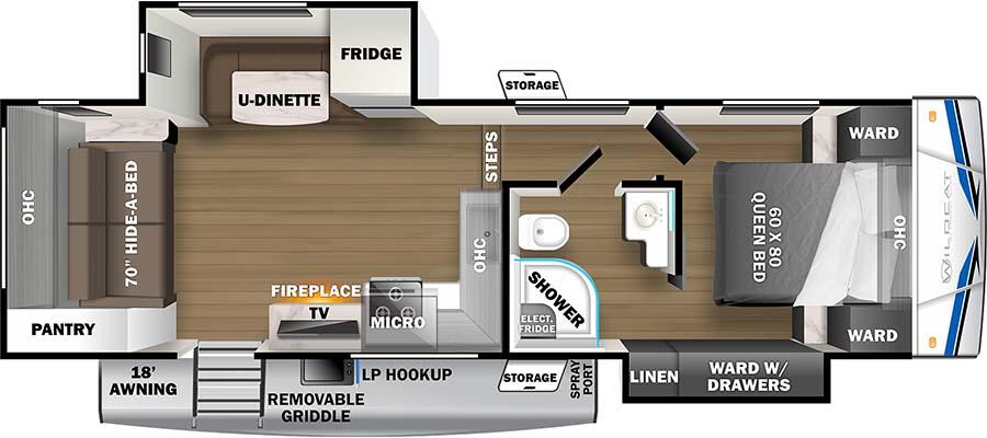 263RL Floorplan