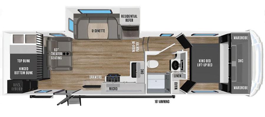 268BH Floorplan