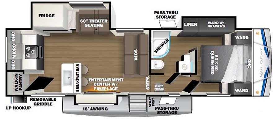 271ML Floorplan