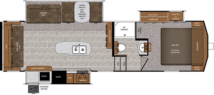 290RL Floorplan