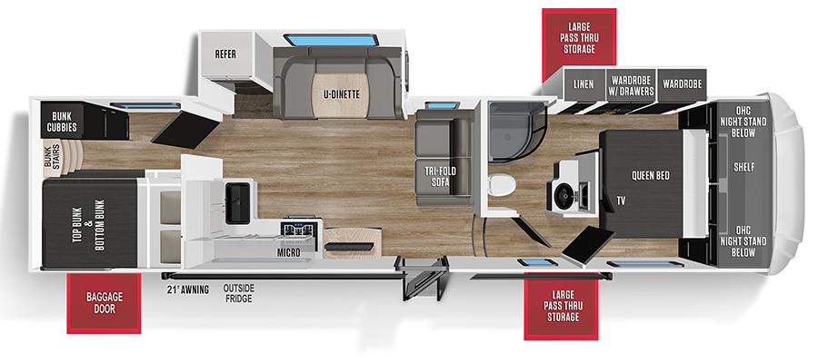 297BH Floorplan