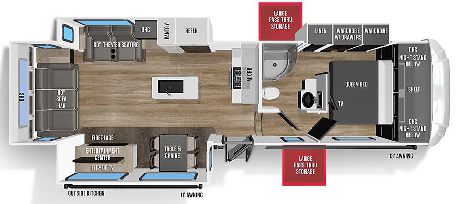 298RLS Floorplan