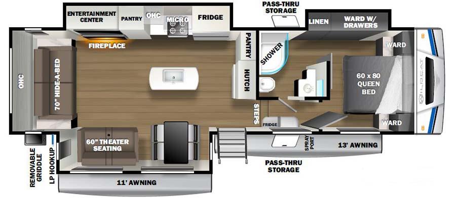 311RLWS Floorplan