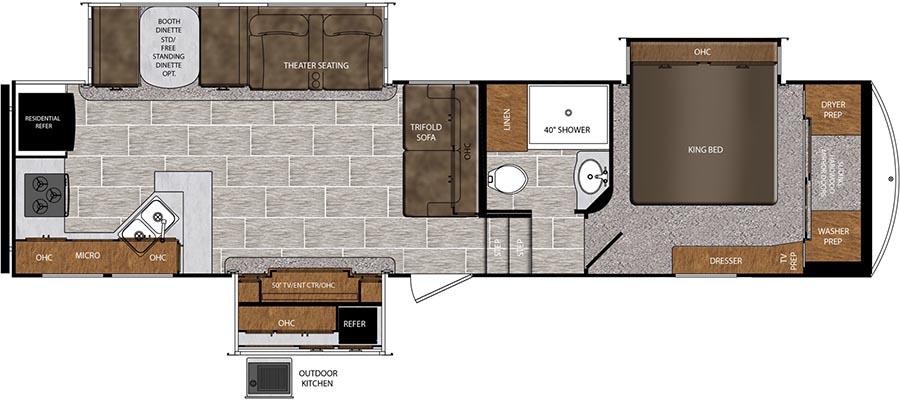 322RK Floorplan