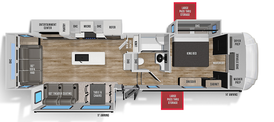 336RLS Floorplan