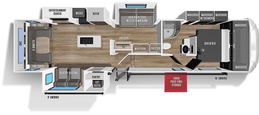 348MB Floorplan